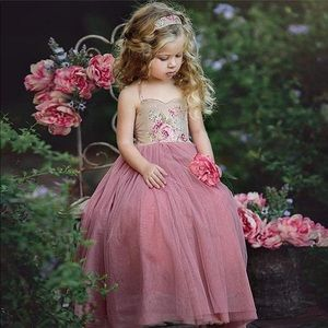 Other - Floral occasional dress for little girl